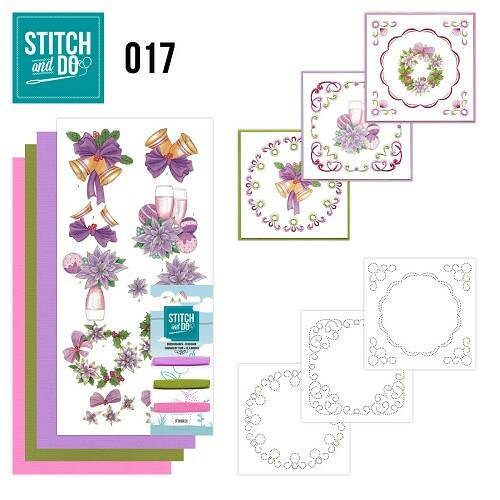 Stitch and Do setje nr. 17