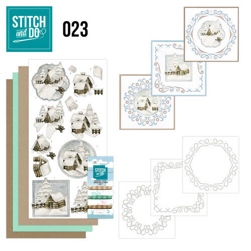 Stitch and Do setje nr. 23