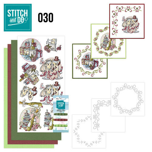 Stitch and Do setje nr. 30