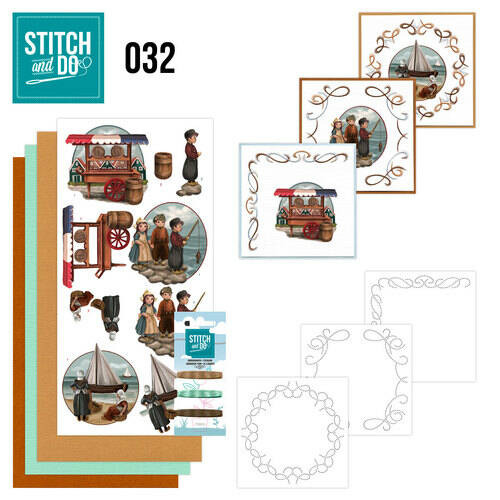 Stitch and Do setje nr. 32