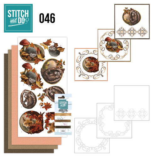 Stitch and Do setje nr. 46