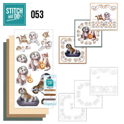 Stitch and Do setje nr. 53