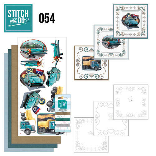 Stitch and Do setje nr. 54