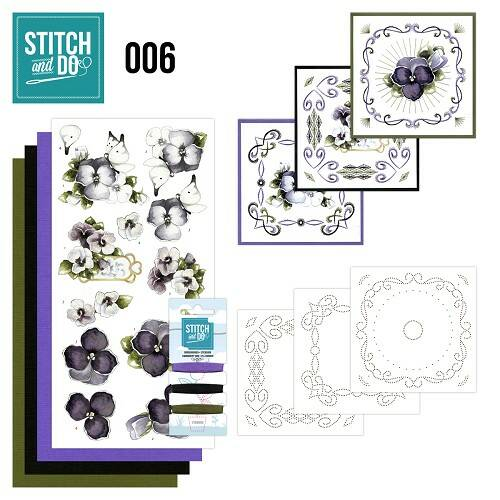 Stitch and Do setje nr. 6