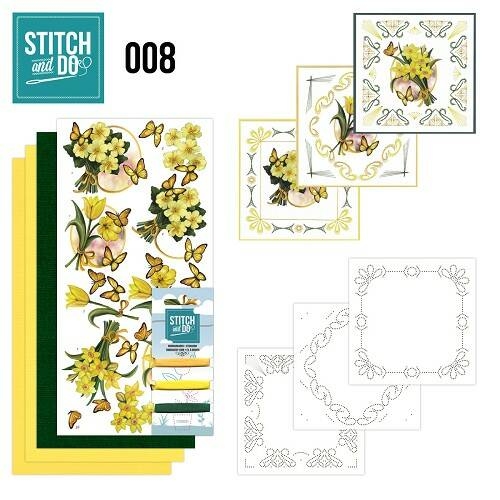 Stitch and Do setje nr. 8