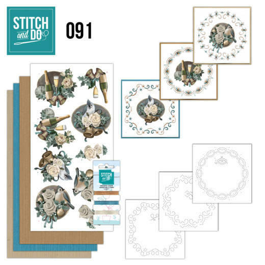 Stitch and Do setje nr. 91