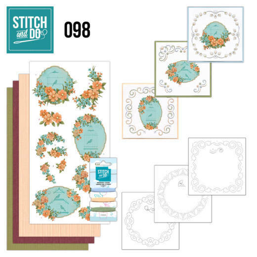 Stitch and Do setje nr. 98