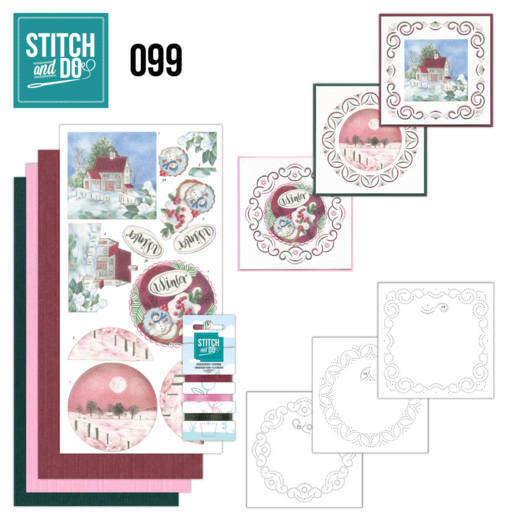 Stitch and Do setje nr. 99