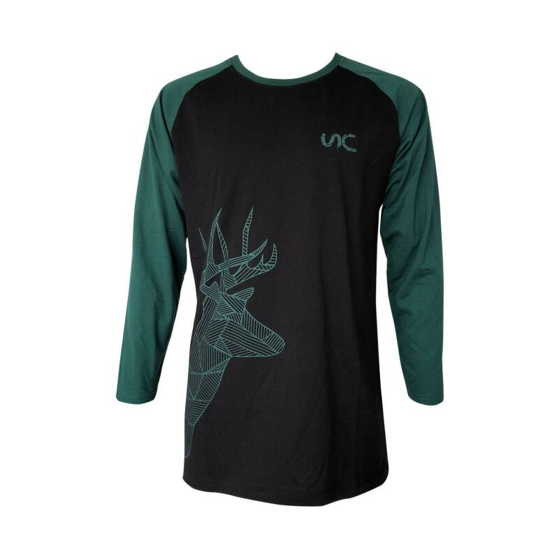 Stag long sleeve T-Shirt Green & Black kids size