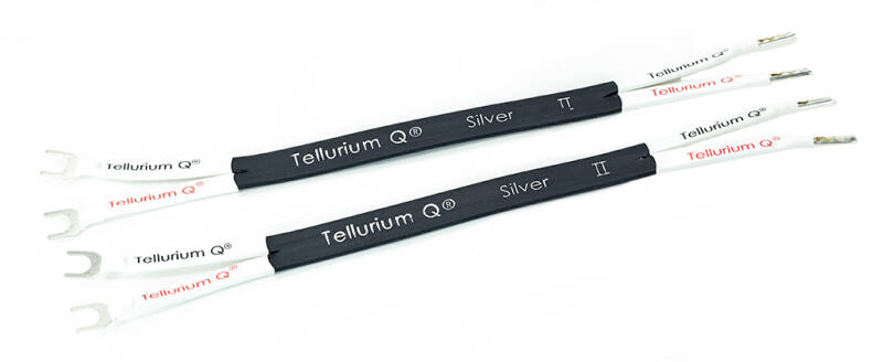 Tellurium Silver Jumpers – Stereo set