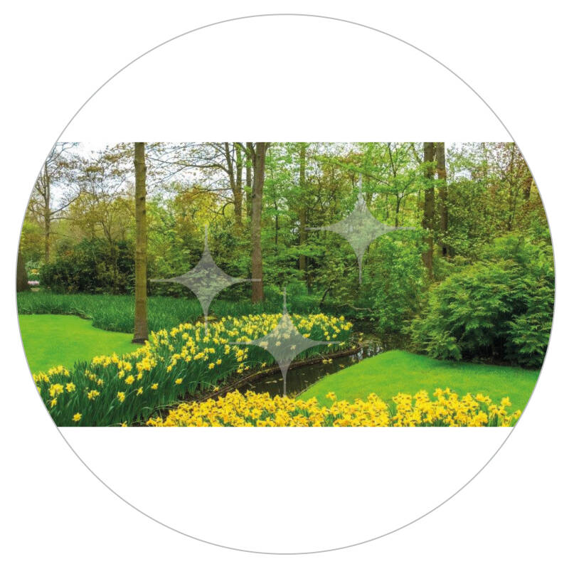 FotoDecorDoek 003 8x4 Lente Park Links