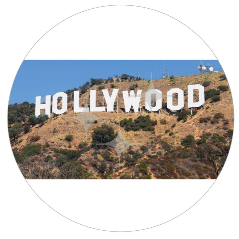 FotoDecorDoek 706 8x4 Hollywood