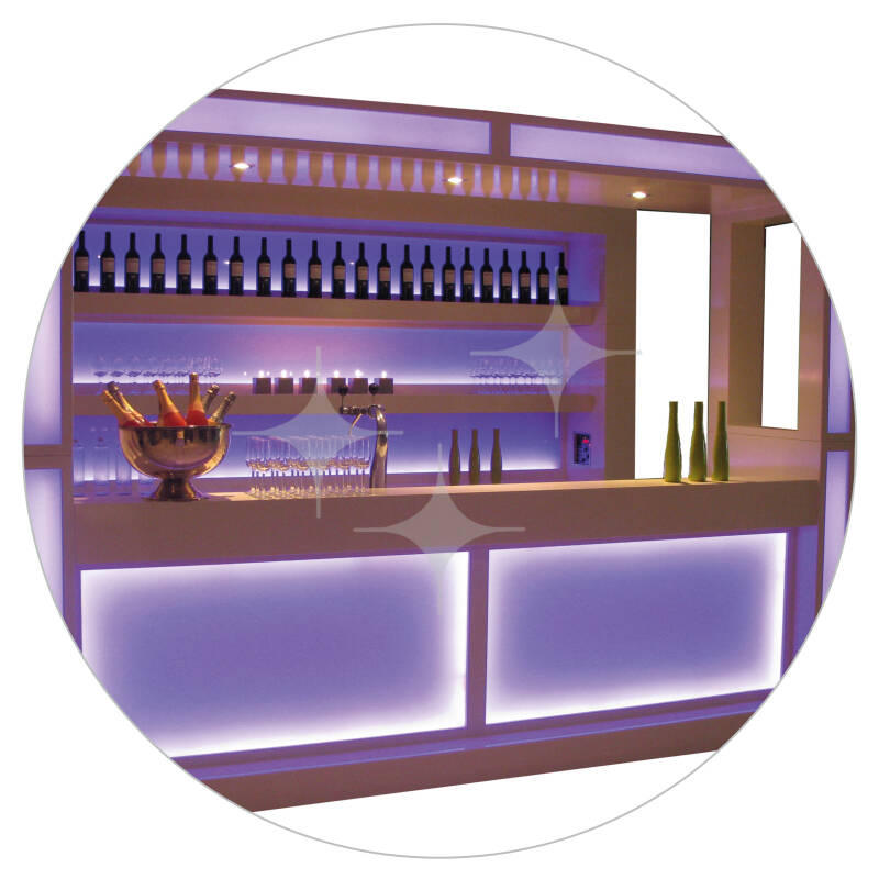 ColorLED Bar 3,5 mtr (compleet)