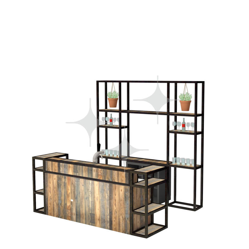 StelligStaal Bar Compact 3mtr (compleet)