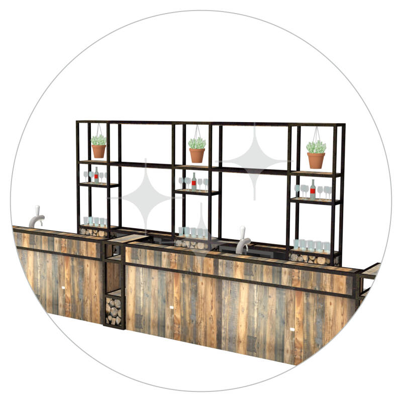 StelligStaal Bar Compact 7,5mtr (compleet)