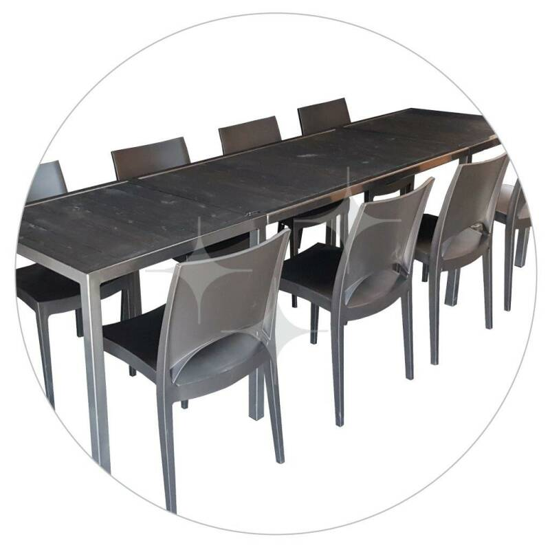 Stalure Dark tafel 280x72