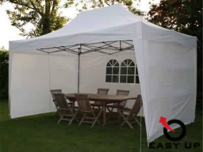 Easy up partytent 6 x 3 m. Wit