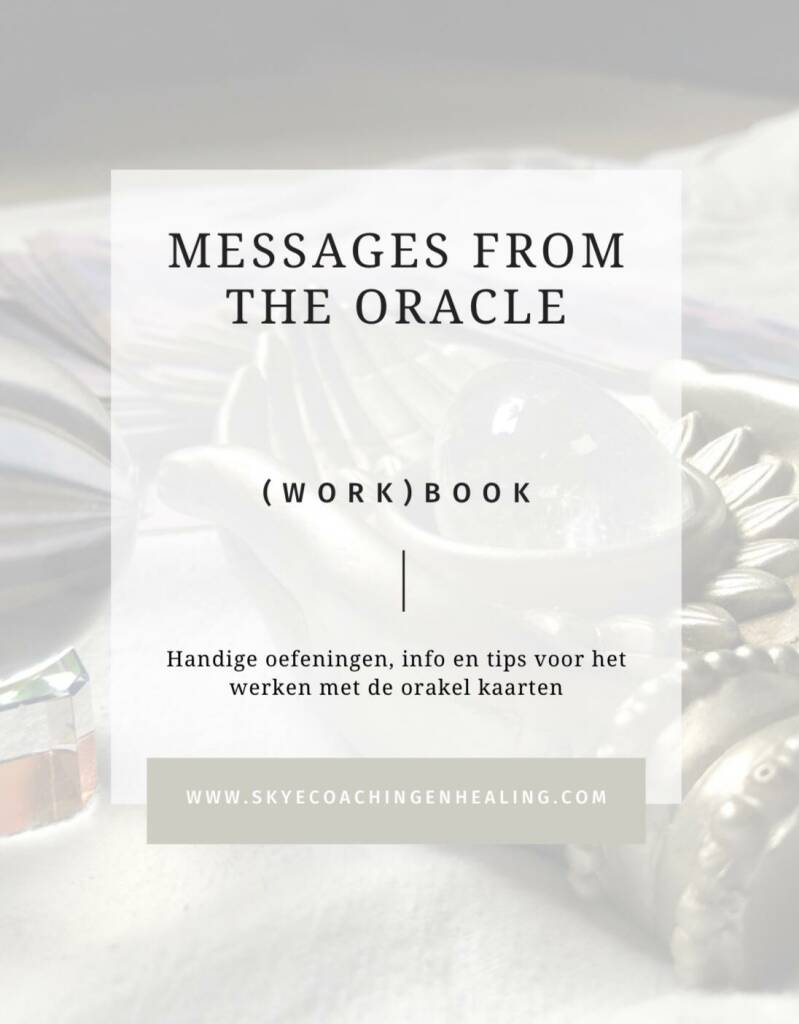 Cursus 'messages from the oracle' + e-book