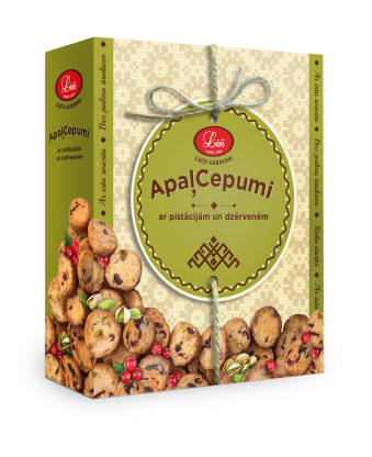 Lāču round biscuits with pistachios and cranberries, pre order