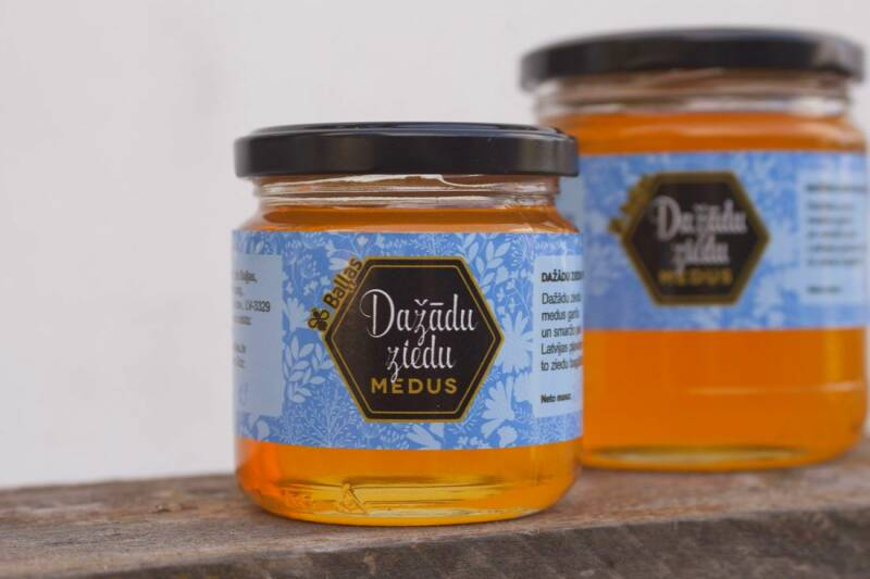 Honey of different flowers 250 g, pre order
