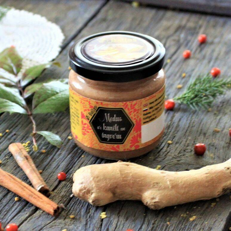 Honey with cinnamon and ginger, pre order