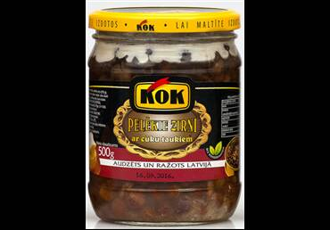 KOK gray peas with pig fat, pre order