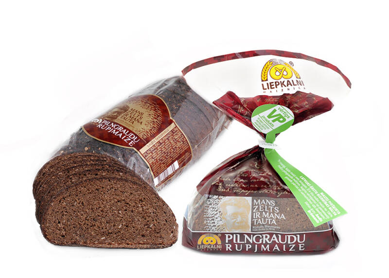 Liepkalnu wholemeal rye bread, cutted, pre order