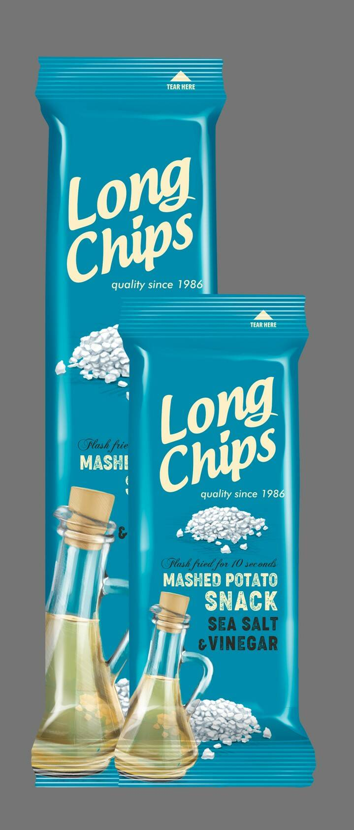 Long potato chips with sea salt and vinegar, pre order
