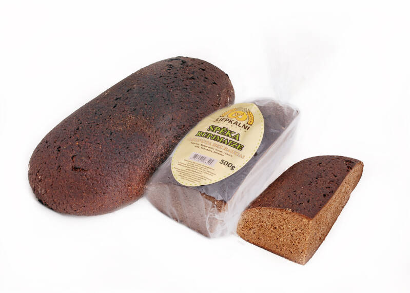 Liepkalnu strength rye bread without yeast, pre order
