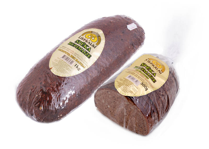 Liepkalnu strength rye bread with grain and without yeast, pre order