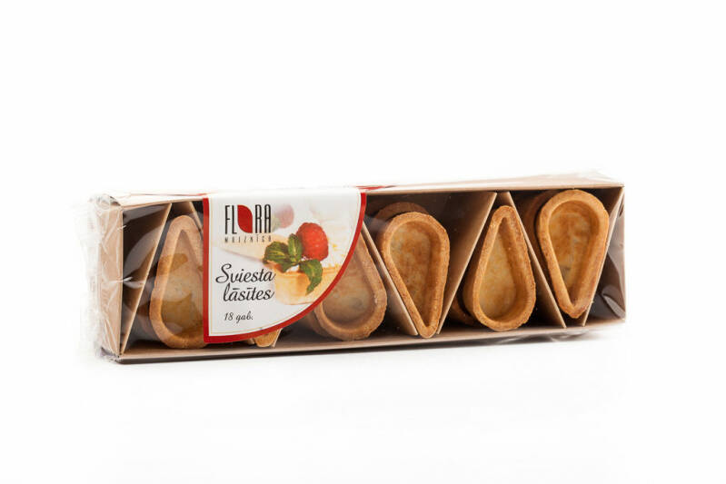Flora butter pastry drops for sweet and savory fillings 18 psc, pre order