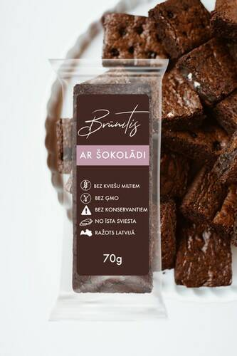 Lielezers brownie with chocolate, pre order