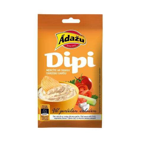 Dipi sauce with vegetables