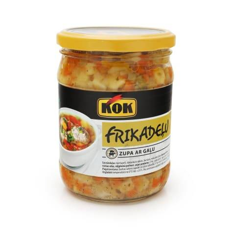 KOK meatball soup with meat, pre order