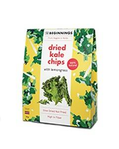 The Beginnings kale chips with lemongrass, pre order