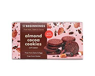 The Beginnings almond cocoa cookies, pre order