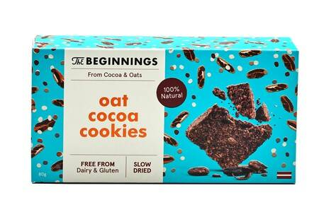 The Beginnings oat cocoa cookies, pre order