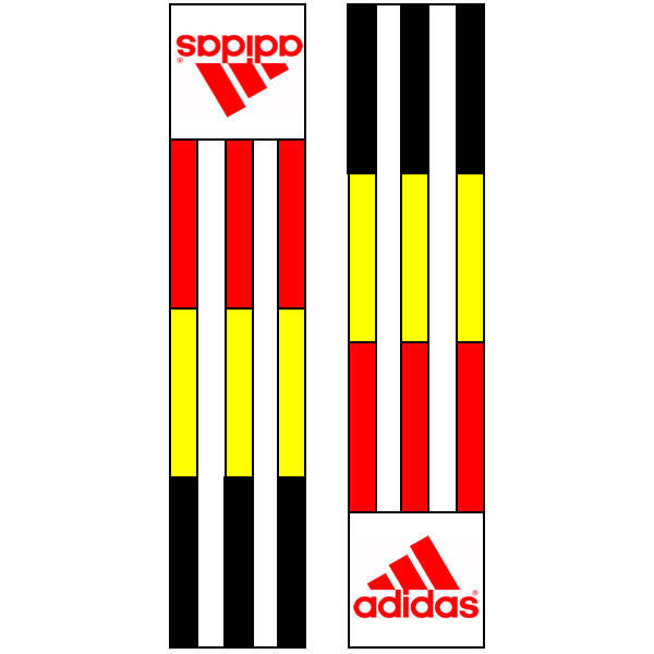 Adidas shoulder labels