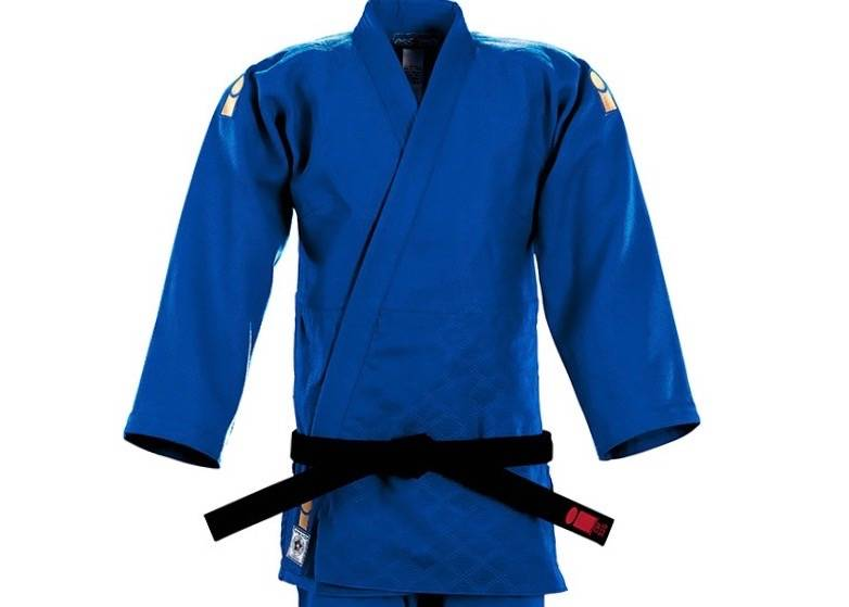 Essimo IJF Gold blauw judopak (2019, red label)
