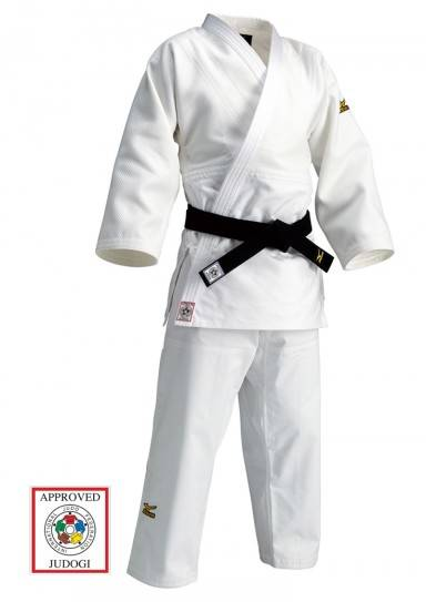 Mizuno judogi IJF Approved blanc&bleu judogi 10% réduction