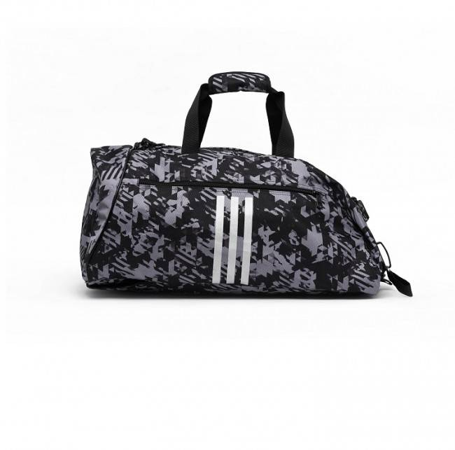 ACTIE: Adidas Combat Sports bag Polyester (2 in 1) Camo 3 colors
