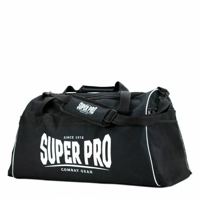 Super Pro Combat Gear Gym Sporttas Zwart/Wit