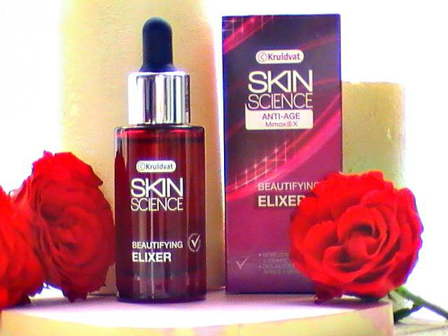 Review Kruidvat anti age skin science elixer