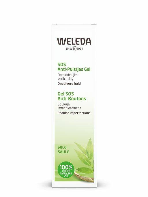 Naturally clear, Anti Puistjes-SOS gel 10ml Weleda