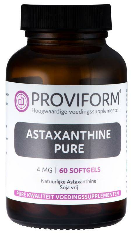 Astaxanthine Pure 4mg 60softgels Proviform