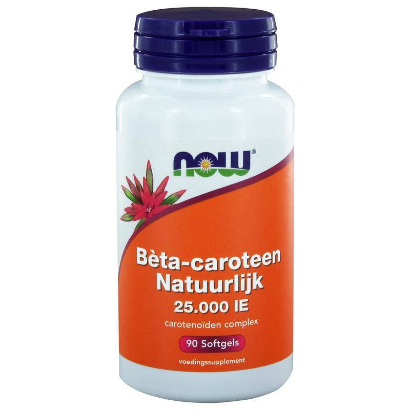 Beta-Caroteen 25.000IE 90softgels NOW