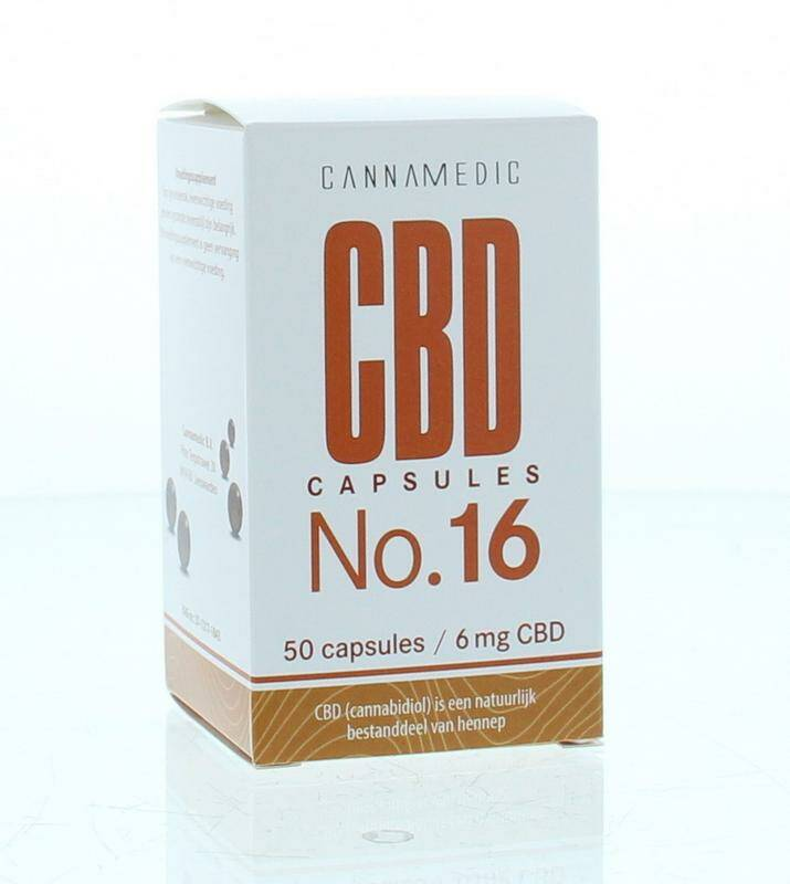 CBD Capsules No.16 6mg 50caps Cannamedic