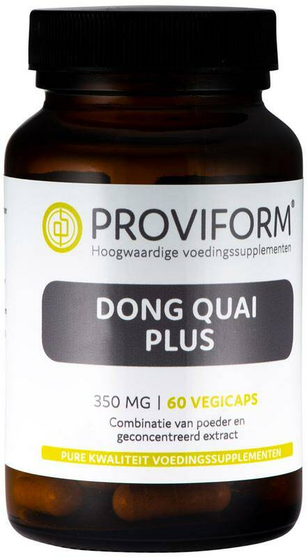 Dong Quai Plus 350mg 60vcaps Proviform