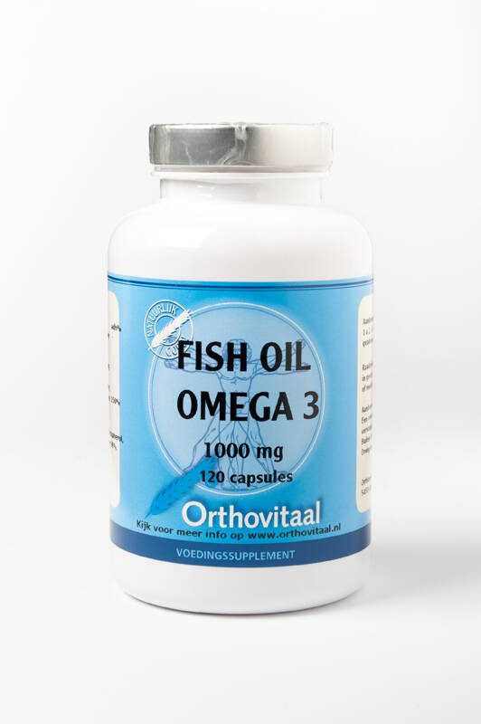 Fish Oil Omega-3 1000mg 120 of 360caps Orthovitaal
