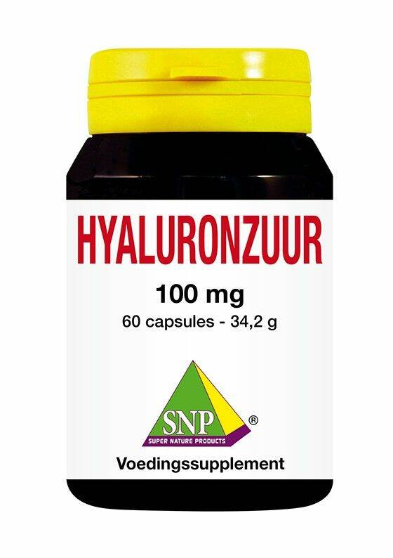Hyaluronzuur 100 mg puur 60caps SNP